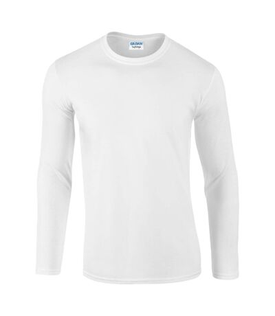 Gildan - T-shirt à manches longues - Hommes (Blanc) - UTBC488
