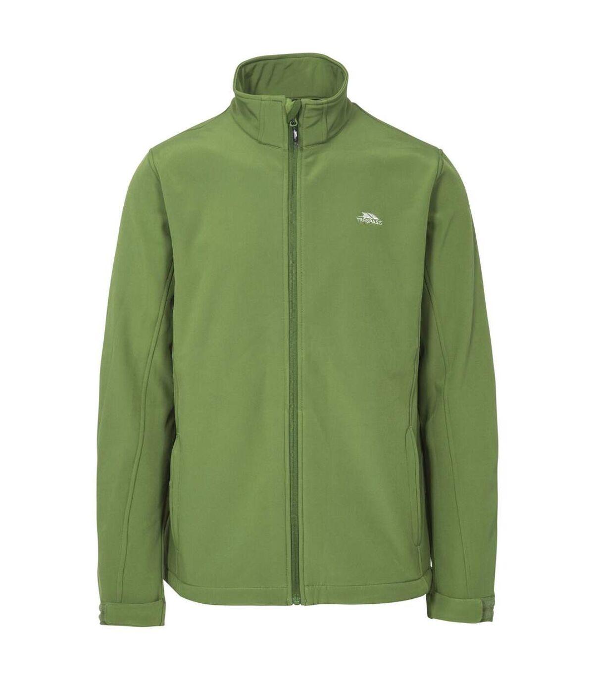 Trespass Mens Vander Softshell Jacket (Fern) - UTTP3334