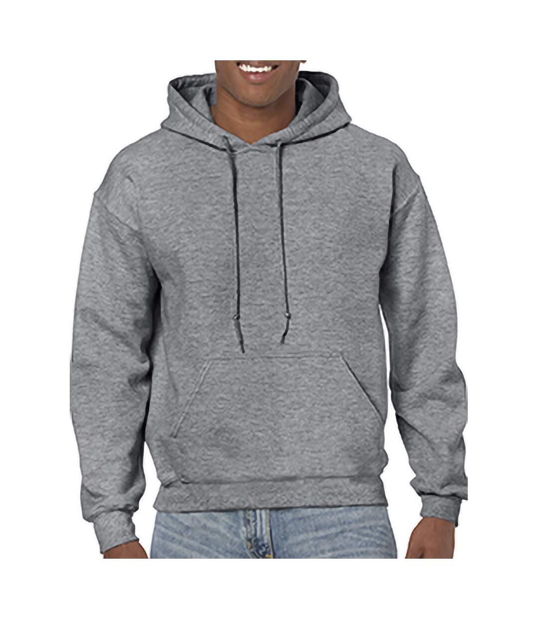 Gildan Heavy Blend Adult Unisex Hooded Sweatshirt / Hoodie (Royal) - UTBC468