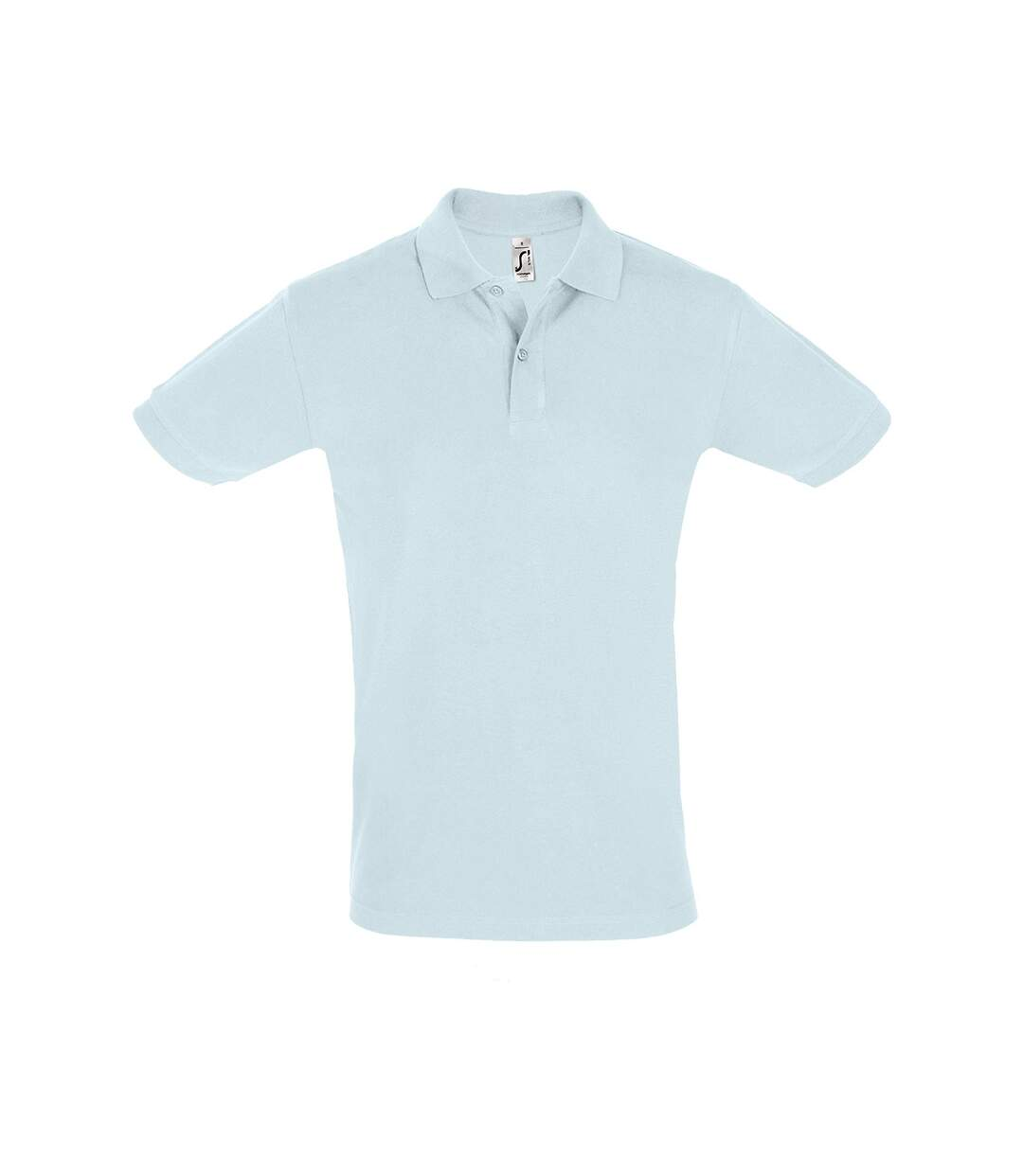 SOLS Mens Perfect Pique Short Sleeve Polo Shirt (Creamy Blue) - UTPC283