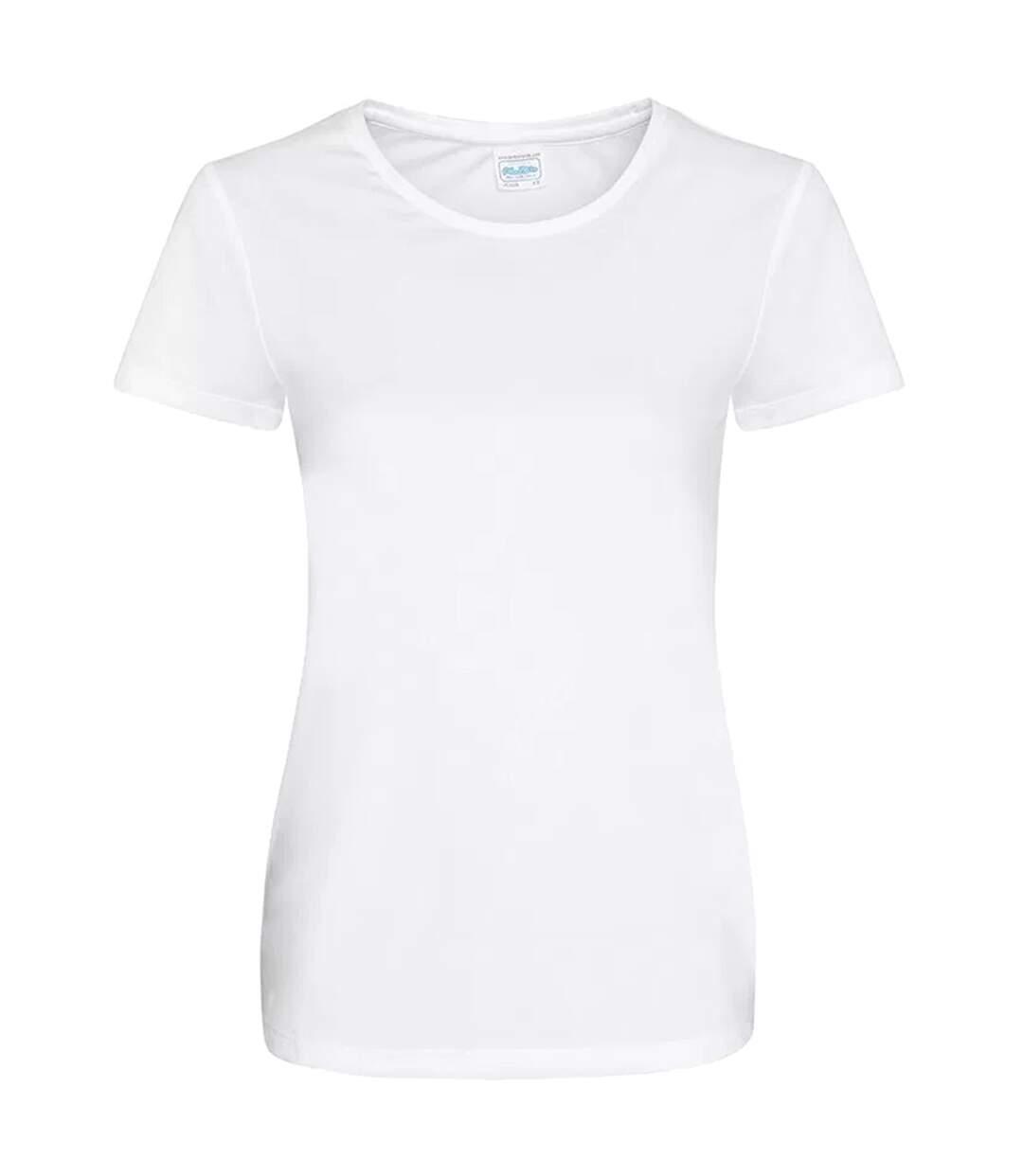 Awdis - T-Shirt - Femme (Blanc) - UTPC2963