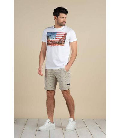 Short chino coupe slim CLOUD Olive