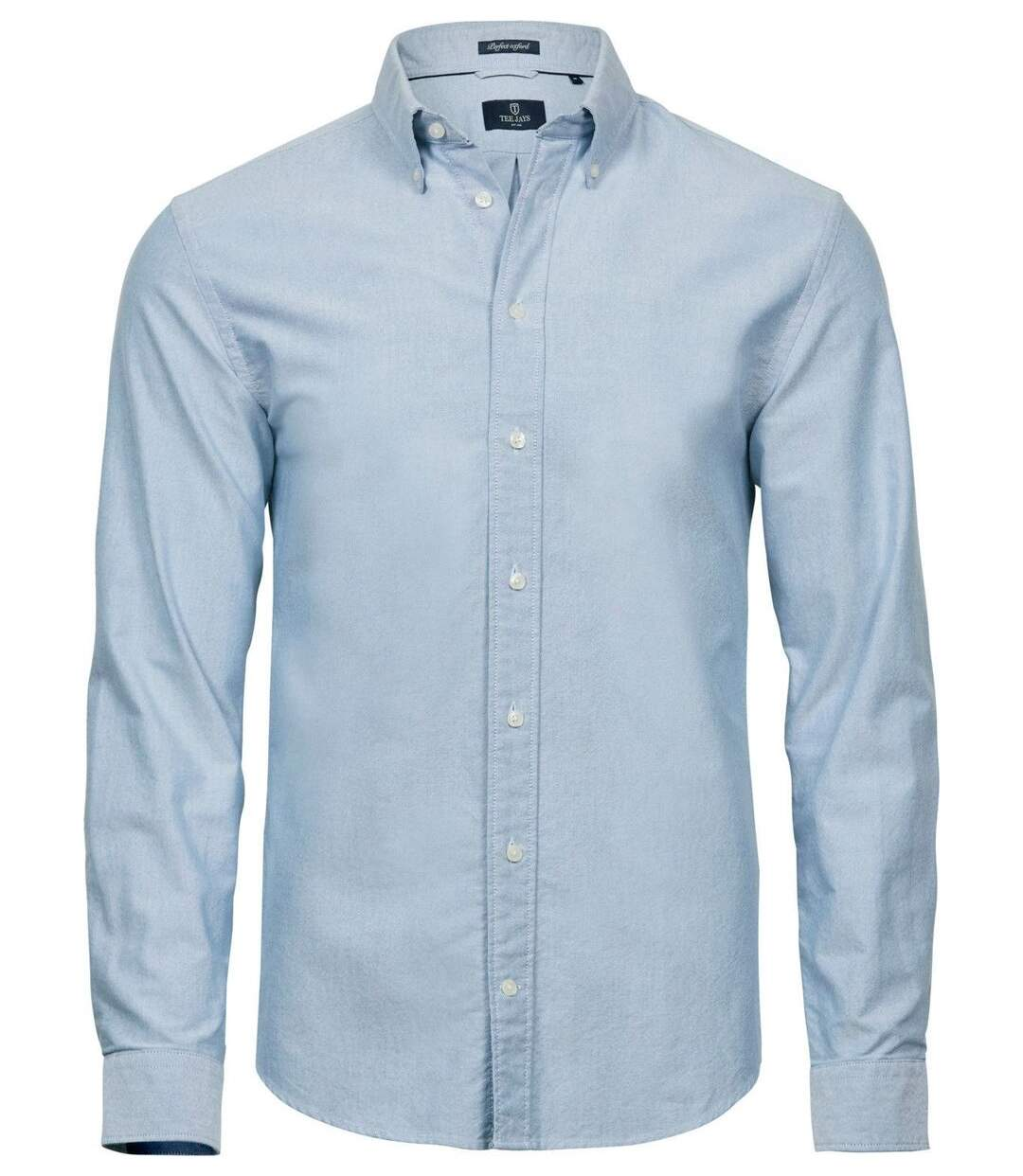 Chemise homme Oxford - 4000 - bleu clair - manches longues