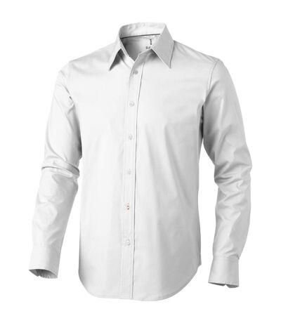 Elevate Hamilton Long Sleeve Shirt (White) - UTPF1837