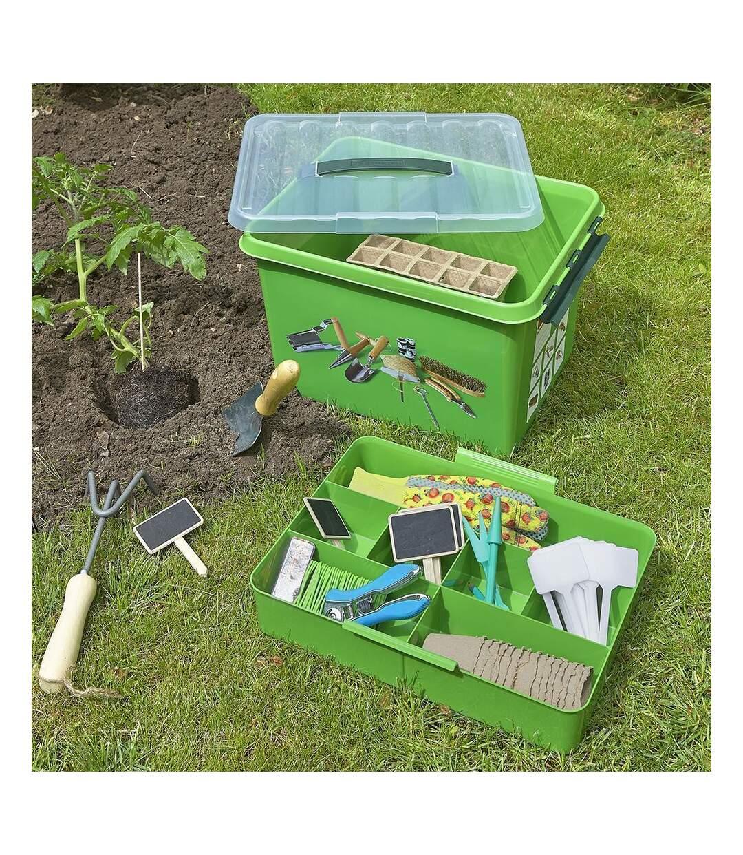 Boite Q-line Box Jardin avec insert compartimenté