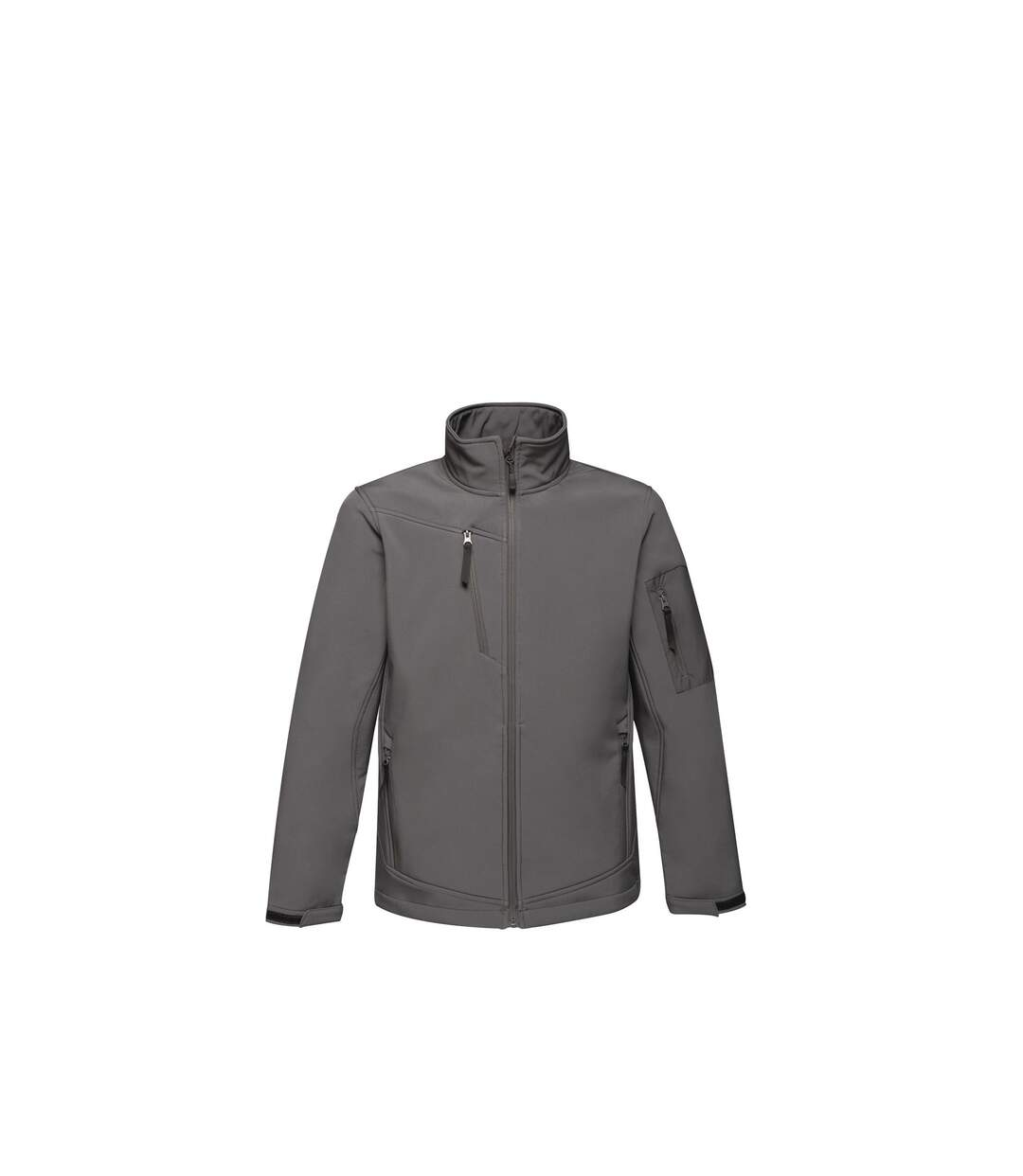 Regatta Standout Mens Arcola 3 Layer Waterproof And Breathable Softshell Jacket (Seal Grey/Black) - UTRG1461