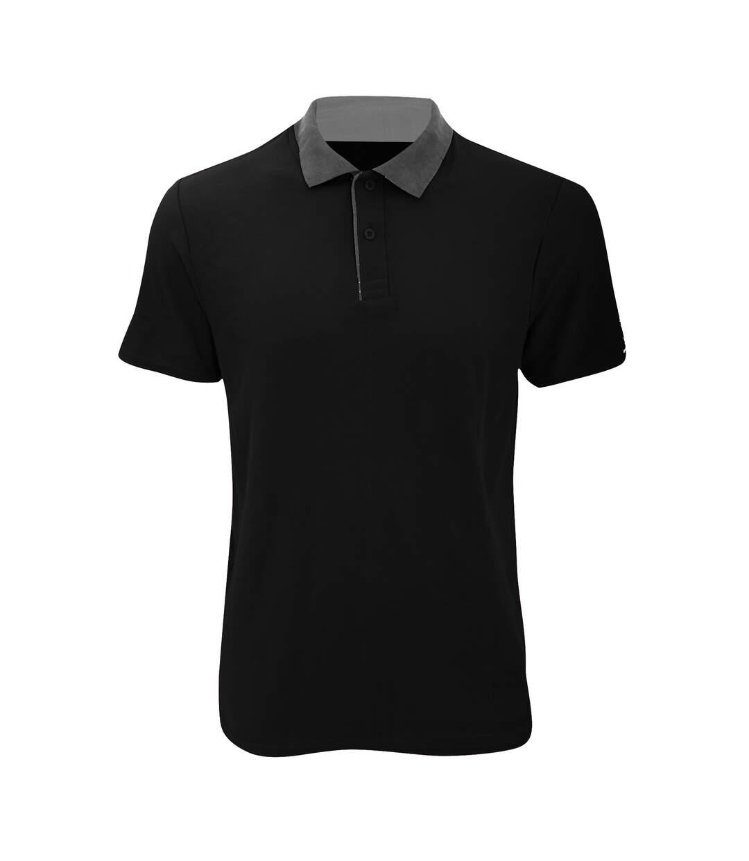 Anvil Mens Fashion Double Pique Plain Polo Shirt (210 GSM) (White) - UTRW2535