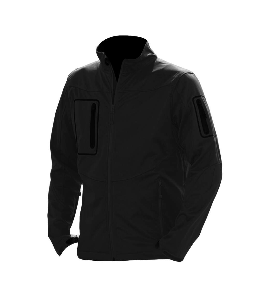 Russell Mens Premium Sport Shell 5000 Performance Jacket (3 Layer) (Black) - UTBC2733