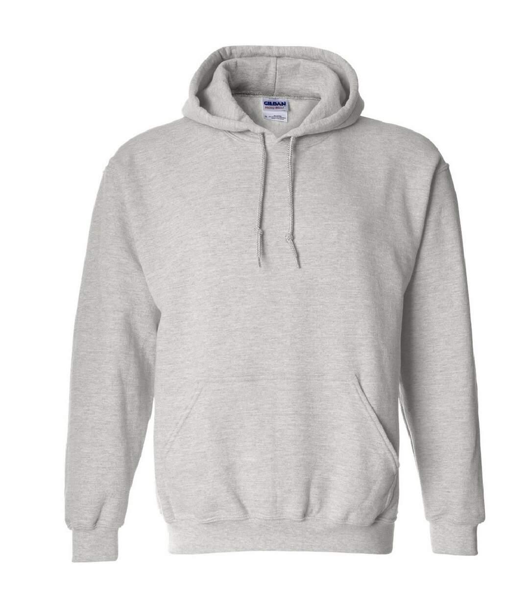 Gildan Heavy Blend Adult Unisex Hooded Sweatshirt / Hoodie (Ash) - UTBC468
