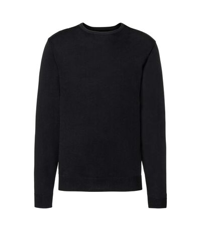 Russell - Pull tricoté à col rond - Homme (Noir) - UTRW6079