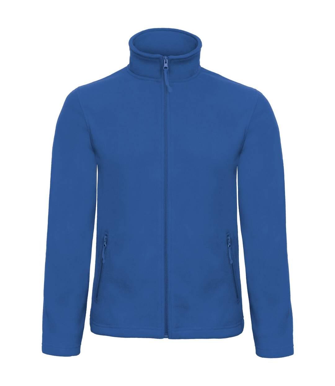 B&C Collection Mens ID 501 Microfleece Jacket (White) - UTRW3527