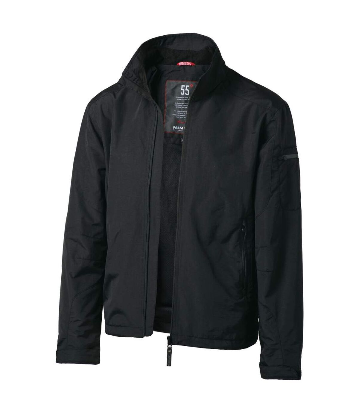 Nimbus Mens Providence Windproof Waterproof Jacket (Black) - UTRW918