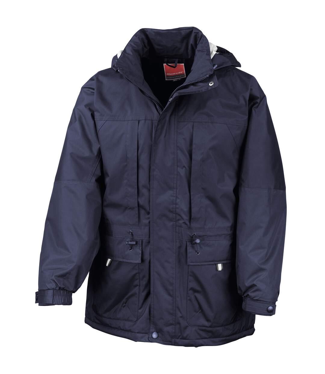Result Mens Multi-Function Winter Jacket (Navy/ Navy) - UTRW3232