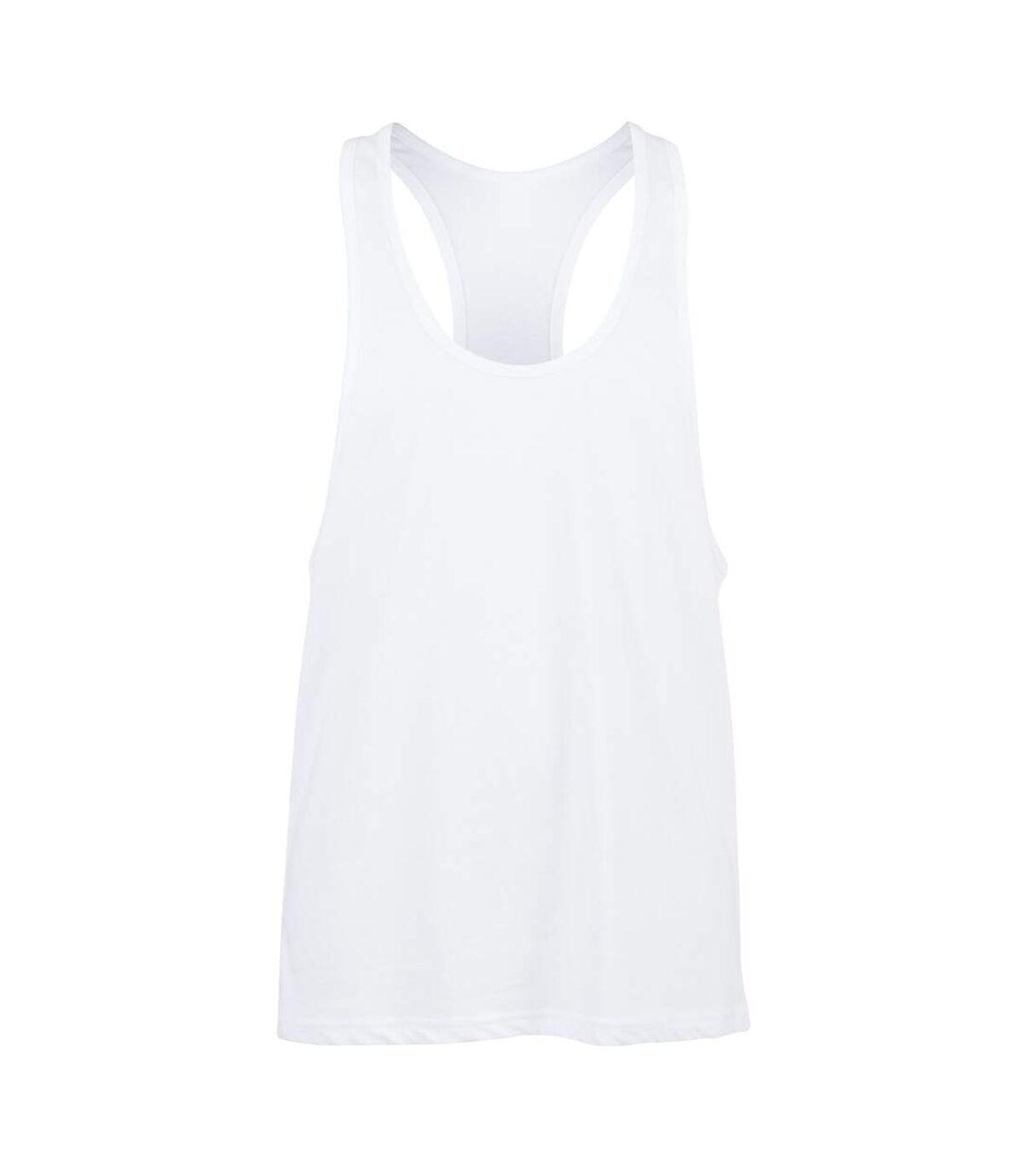 Skinnifit Mens Plain Sleeveless Muscle Vest (Black) - UTRW4741