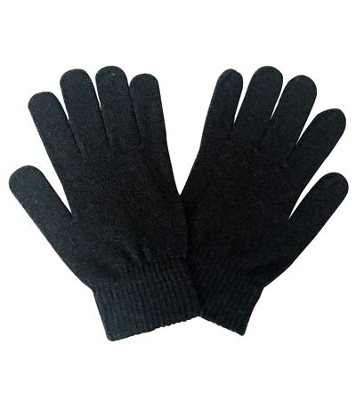 Mens Thin Knitted Winter Magic Thermal Wool Gloves