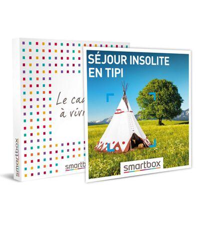 SMARTBOX - Séjour insolite en tipi - Coffret Cadeau Séjour