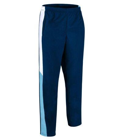 Pantalon jogging homme - VERSUS - bleu marine - blanc - bleu ciel