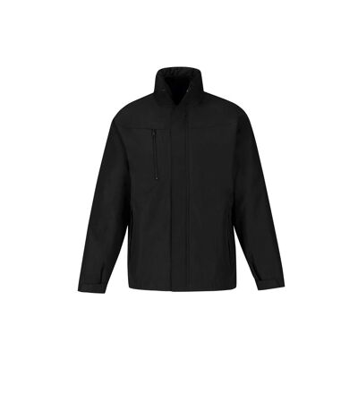 B&C Mens Corporate 3-In-1 Hooded Parka Jacket (Black) - UTRW4836