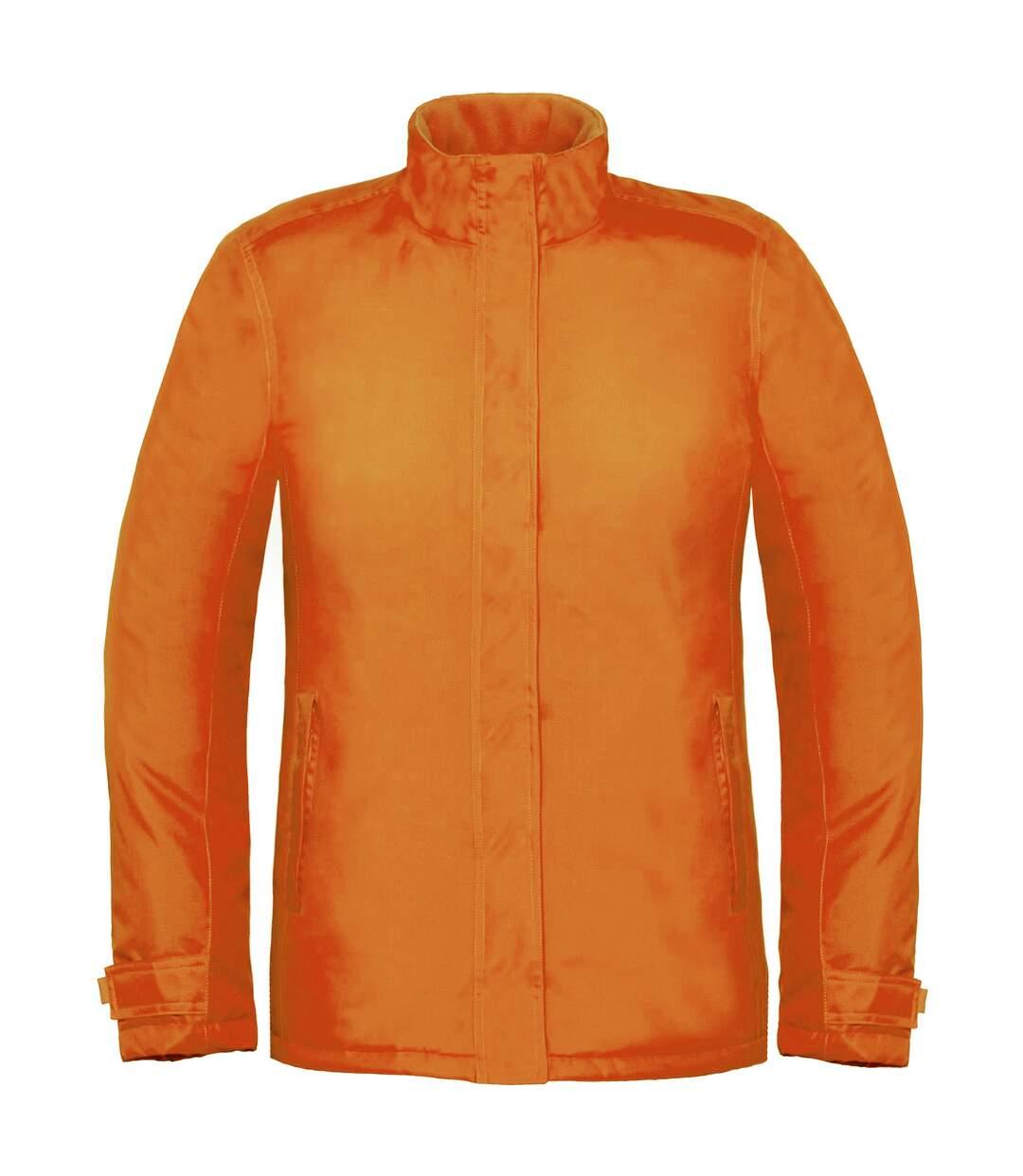 B&C Womens/Ladies Premium Real+ Windproof Waterproof Thermo-Isolated Jacket (Orange) - UTBC2003