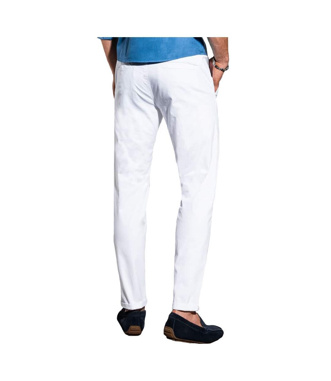 Pantalon chino pour homme Pantalon 894 blanc