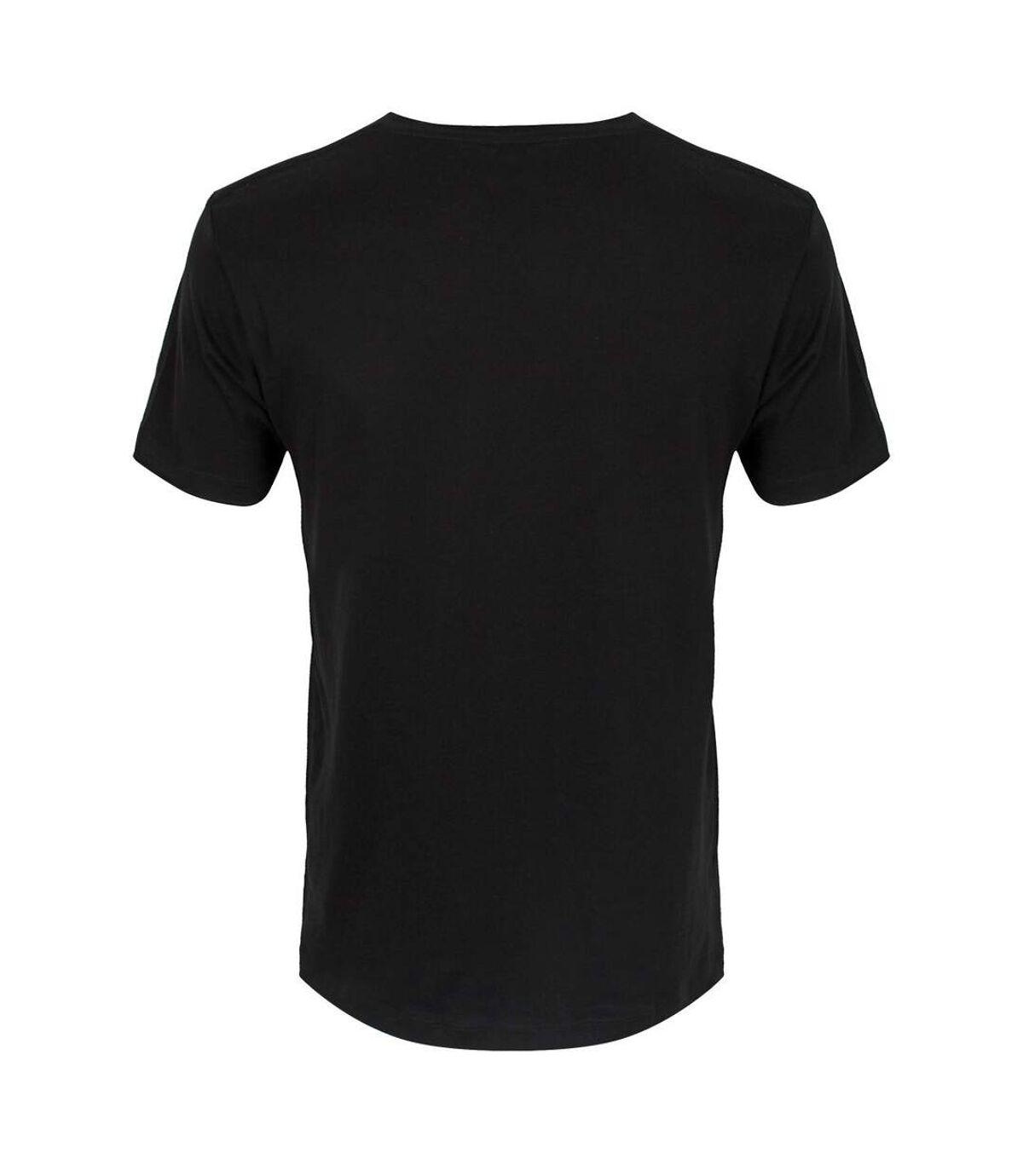 Tokyo Spirit Mens Oka Monochrome T-Shirt (Black) - UTGR4118