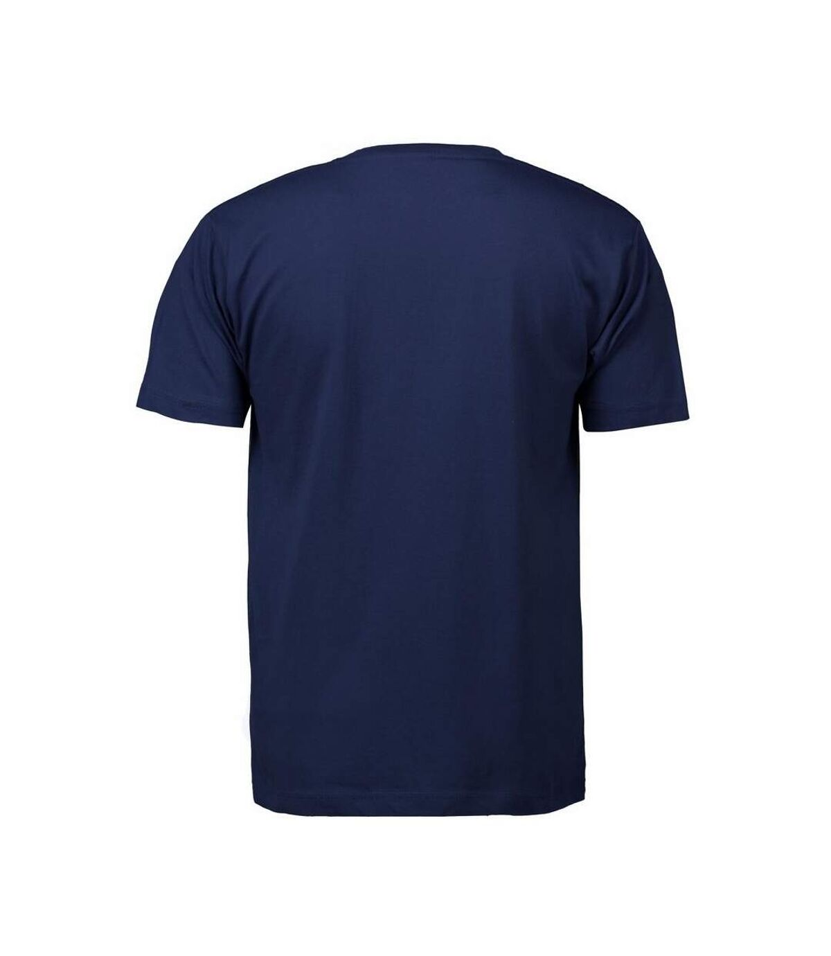 ID Mens T-Time Classic Regular Fitting Short Sleeve T-Shirt (Navy) - UTID268