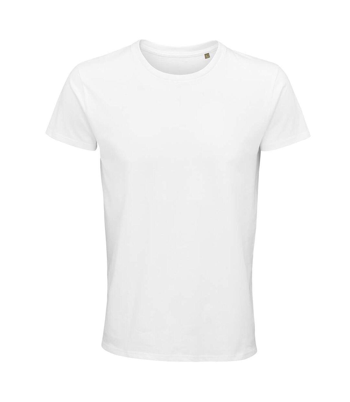 SOLS Mens Crusader Organic T-Shirt (White) - UTPC4316