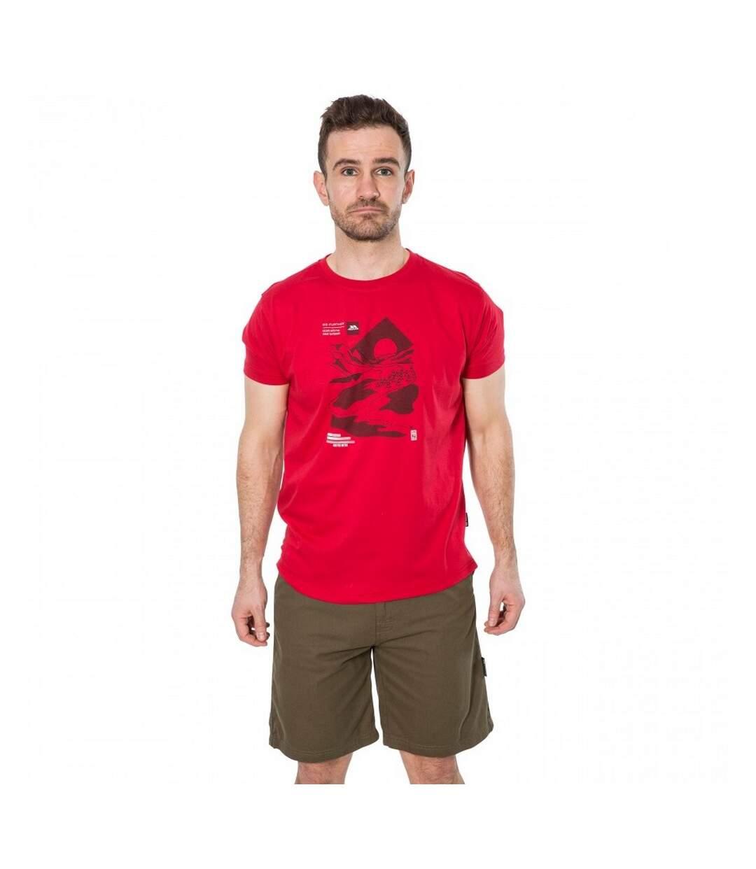 Trespass Mens Landscape T-Shirt (Red) - UTTP4309