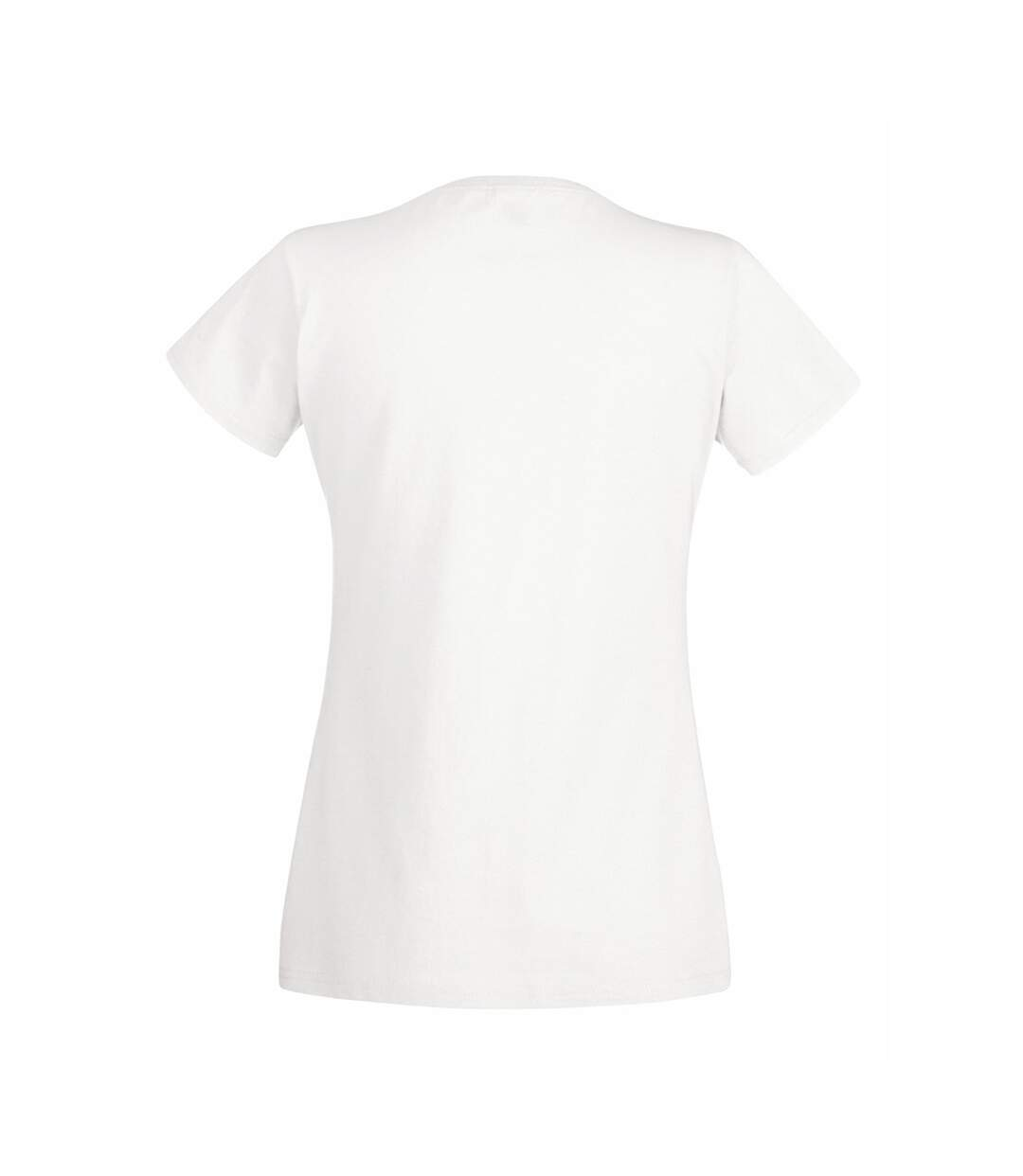 Fruit Of The Loom - T-Shirt Manches Courtes - Femme (Blanc) - UTBC1354