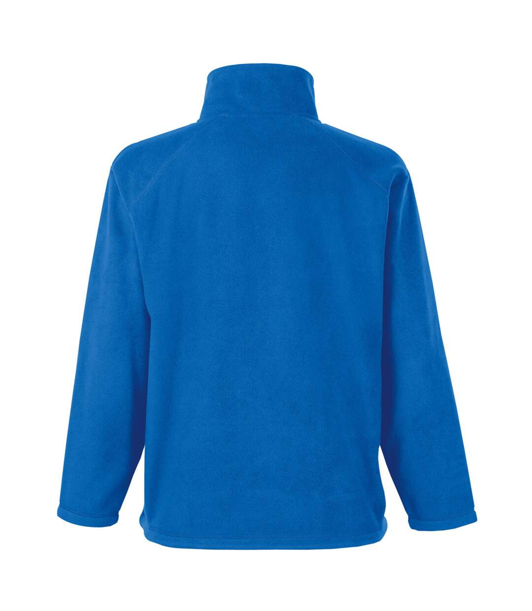Fruit Of The Loom Mens Half Zip Outdoor Fleece Top (Royal) - UTBC374
