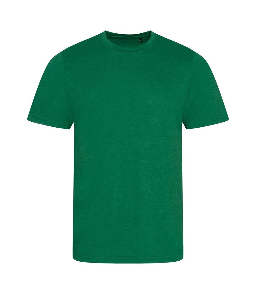 AWDis Mens Tri Blend T Shirt (Heather Bottle) - UTPC2894