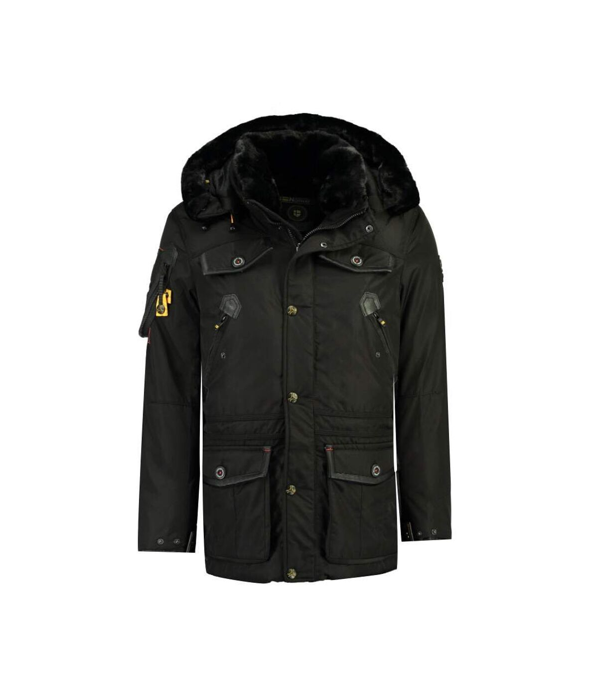Parka Noir homme Geographical Norway Acrobate