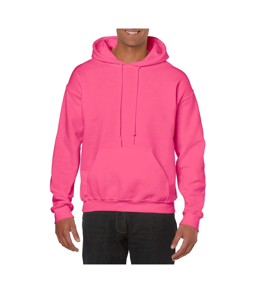 Gildan Heavy Blend Adult Unisex Hooded Sweatshirt / Hoodie (Maroon) - UTBC468