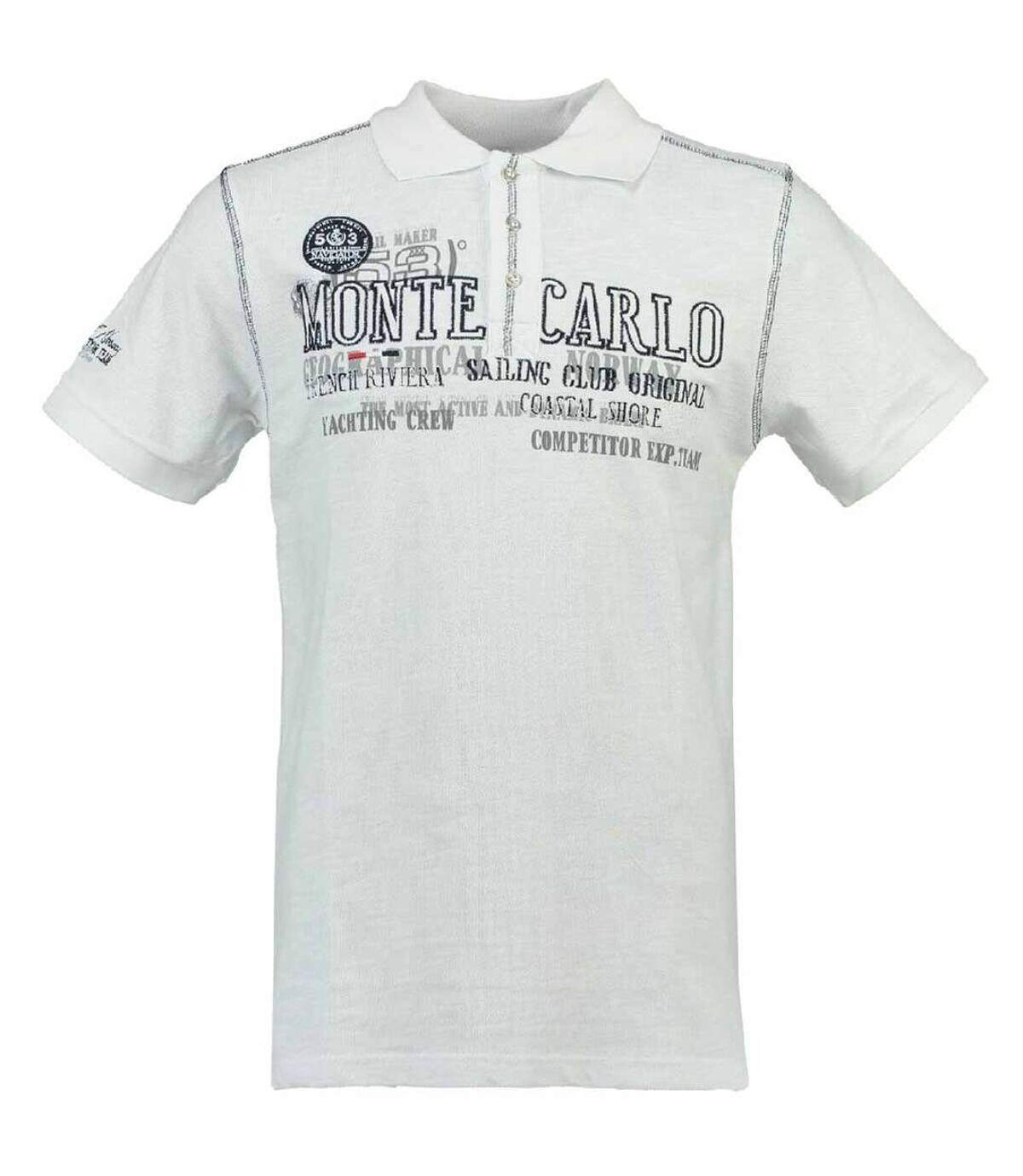 Polo Klasseur Monte Carlo - homme - blanc