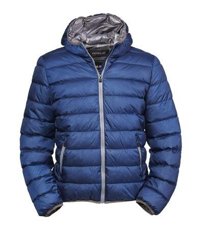 Doudoune à capuche - anorak pour homme - 9634 - bleu
