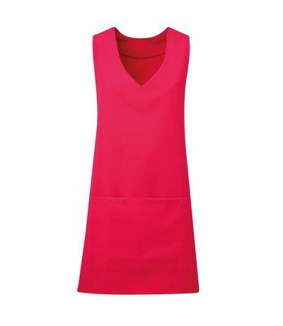 Premier Unisex Wrap-Around Tunic (Hot Pink) - UTRW5594