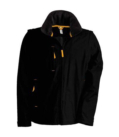 Kariban Mens Score Functional Performance Jacket (Black/Orange) - UTRW725