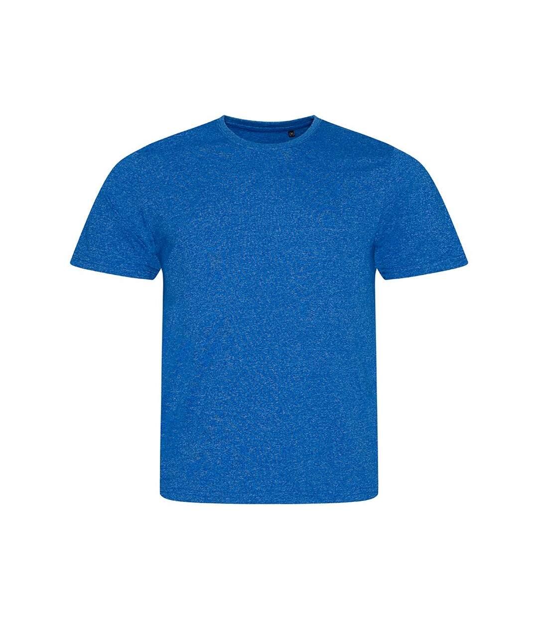 AWDis Mens Space Blend T Shirt (Space Royal Blue/White) - UTPC2897