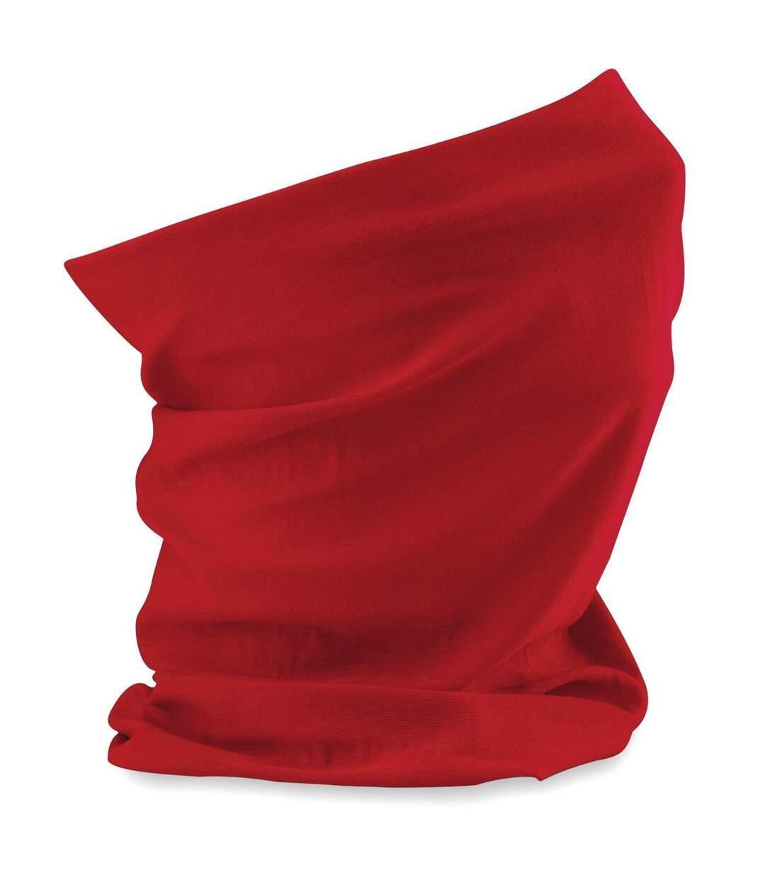 Echarpe tubulaire - tour de cou adulte - B900 - rouge