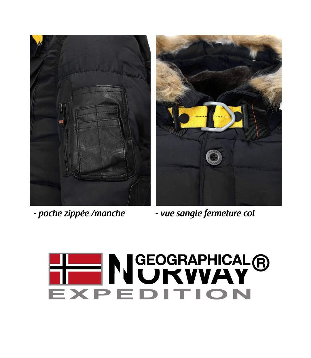 Parka capuche Geographical Norway Parka Bussel noir