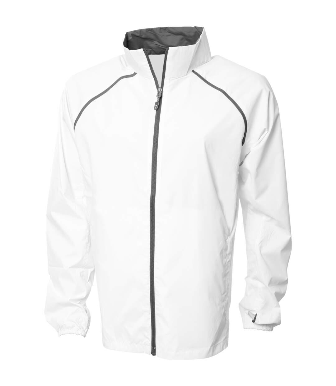 Elevate Mens Egmont Packable Jacket (White) - UTPF1862