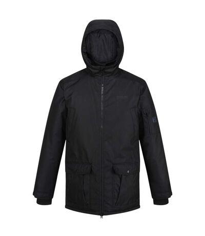 Regatta Mens Stypher Hooded Padded Jacket (Black) - UTRG5431