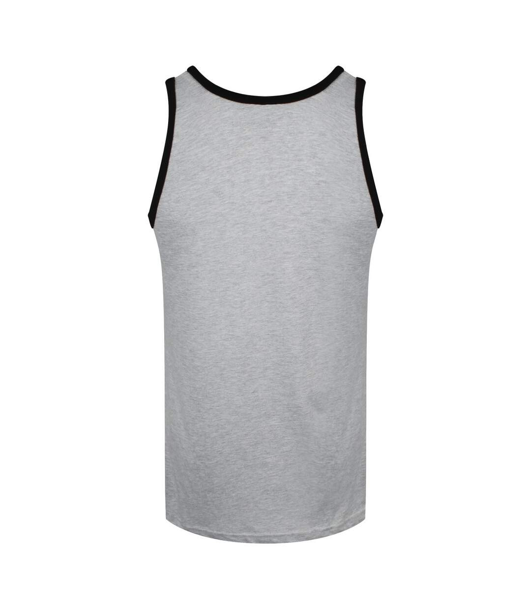 Grindstore Mens Unathletic Dept Tank Top (Grey/Black) - UTGR3522
