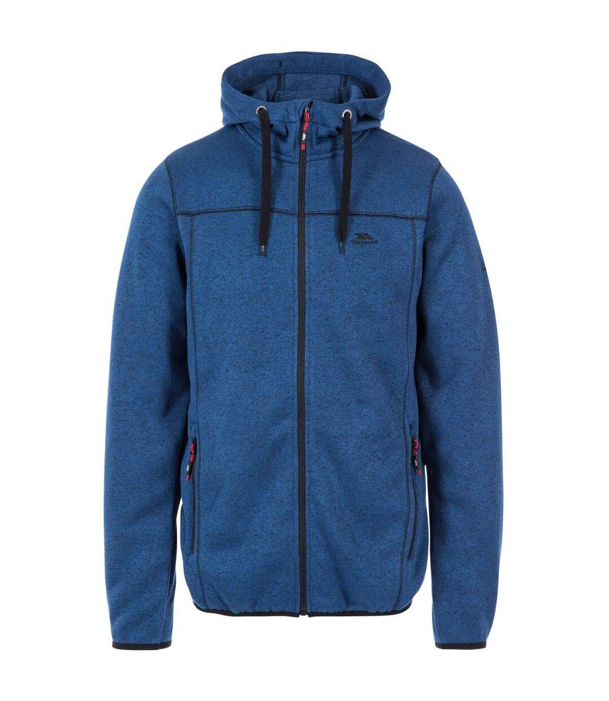 Trespass Mens Odeno Fleece Jacket (Merlot Marl) - UTTP4374
