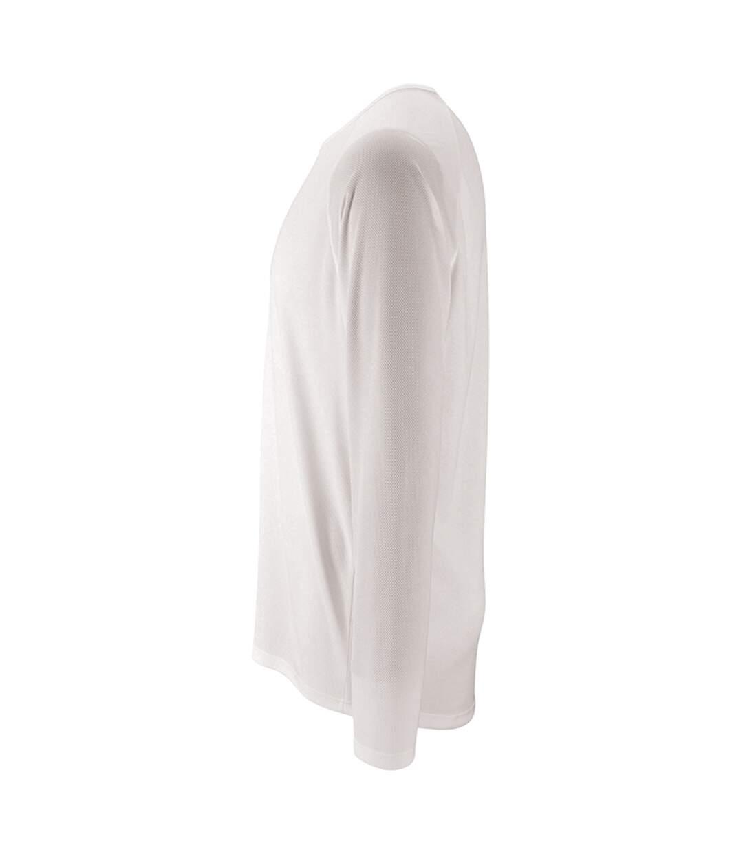 SOLS - T-shirt à manches longues PERFORMANCE - Homme (Blanc) - UTPC2903