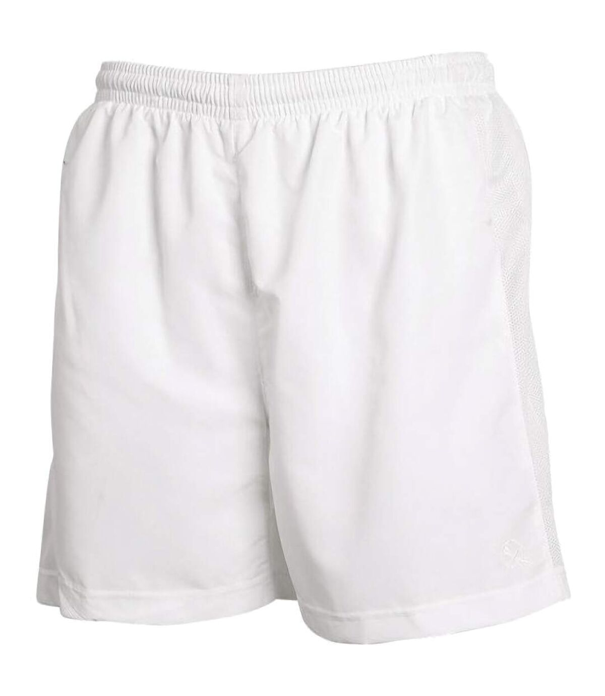 Tombo Teamsport Mens Lined Performance Sports Shorts (White) - UTRW1546