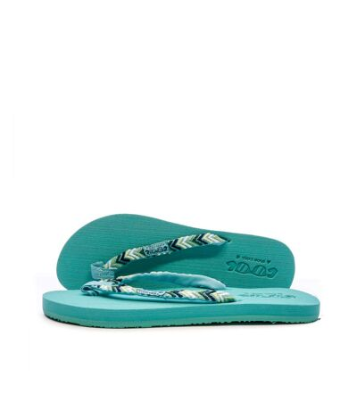 Tongs turquoise Femme Cool shoe Space Trip