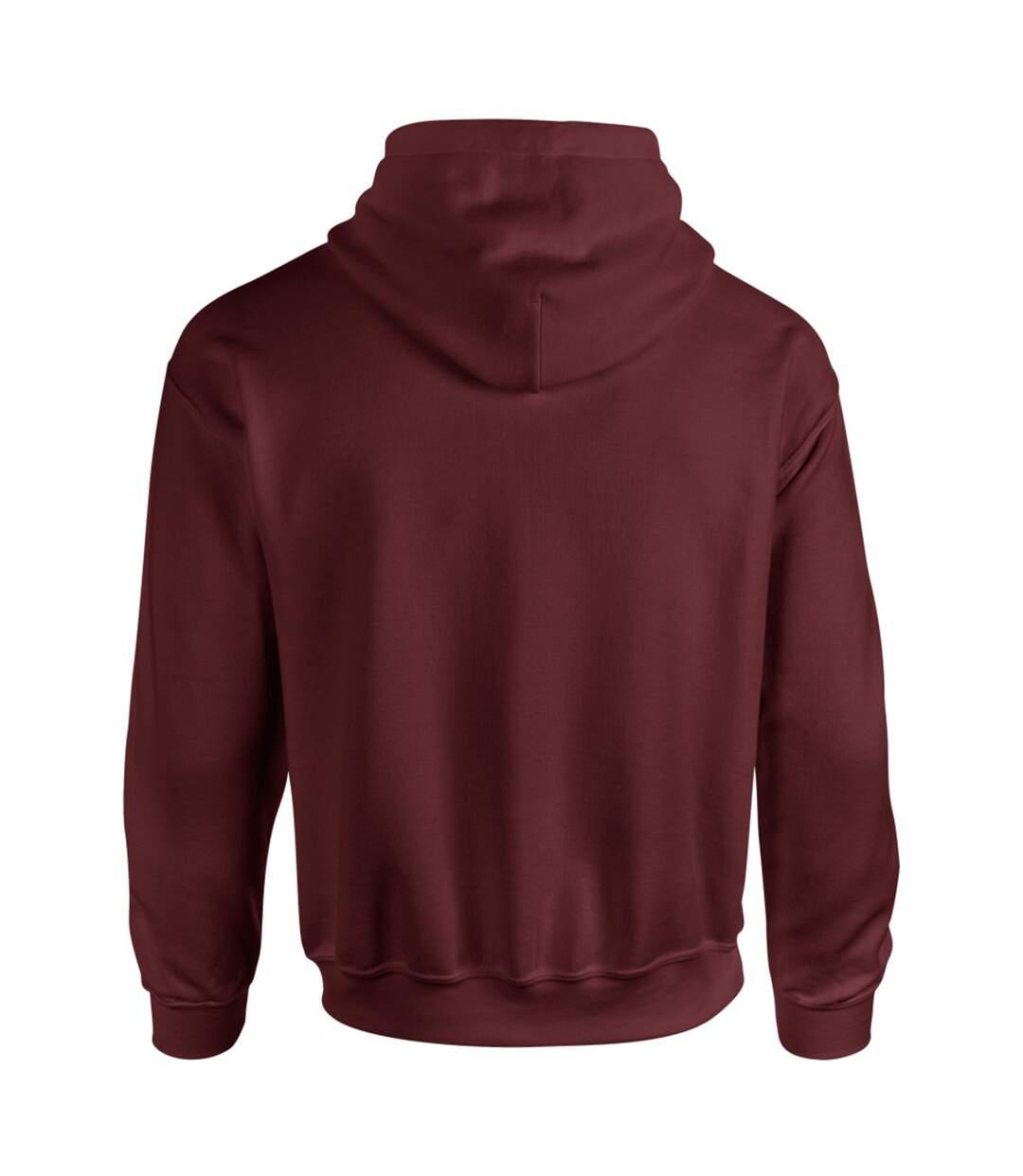 Gildan Heavy Blend Adult Unisex Hooded Sweatshirt / Hoodie (Sapphire) - UTBC468