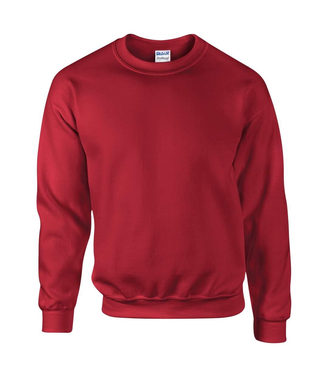 Gildan DryBlend Adult Set-In Crew Neck Sweatshirt (13 Colours) (White) - UTBC459