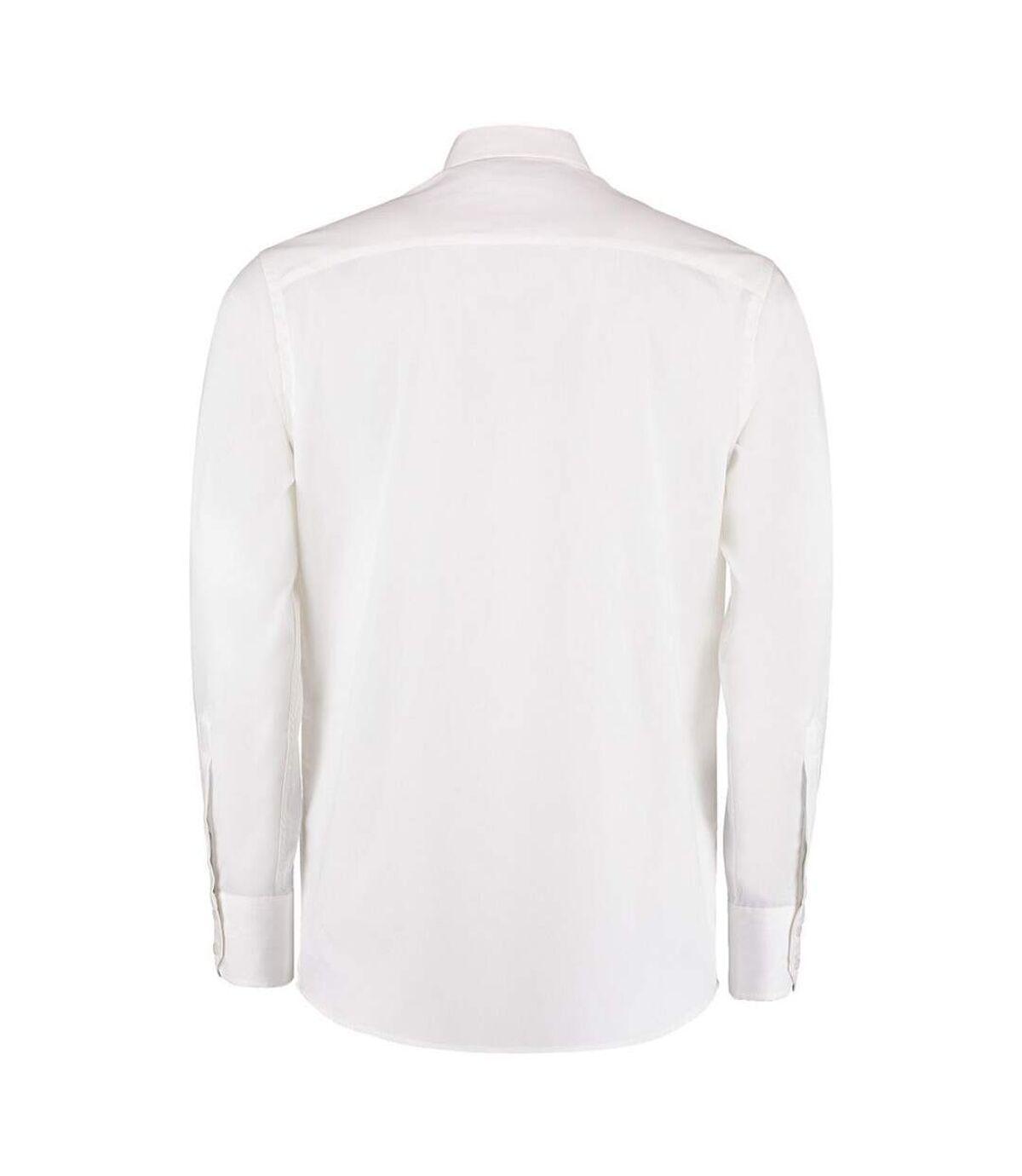 Kustom Kit - Chemise à manches longues - Homme (Blanc) - UTBC1444